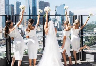 The Langham Melbourne Wedding Venue, Terrace