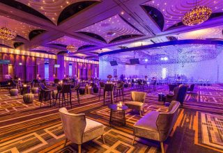 The Palladium at Crown, Weddings and Events Ballroom, Corporate Function Setup