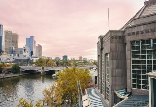 The view of Yarra River from Metropolis Melbourne events