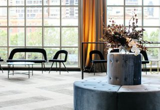 corporate event lounges at metropolis melbourne with city views