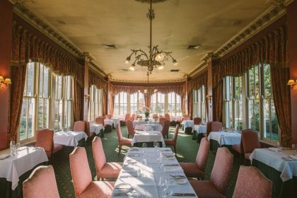 Chateau Yering Private Dining, The Library