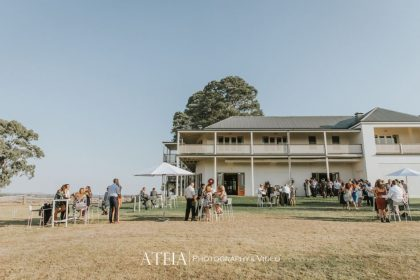 Chateau Yering Summer Party, Lawn, Photography by Ateia
