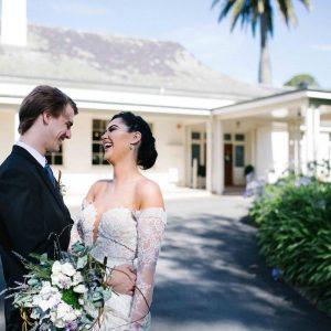 Chateau Yering Hotel, Beautiful Yarra Valley historic Wedding Venue, Outside