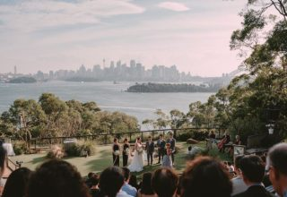 Epicure at Taronga Zoo Wedding Venue, Lawn, Photography by Angus Porter