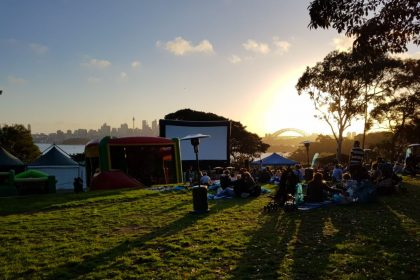 Epicure at Taronga Zoo Outdoor Cinema, Lawn