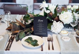 Hydrangea Wedding Decor at Levantine Hill Wedding Lost in Love Photography