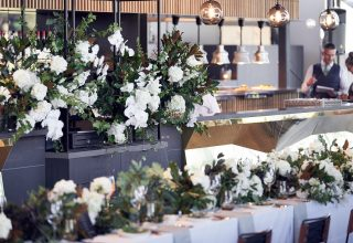Levantine Hill Wedding Dinner Tables Lost in Love Photography
