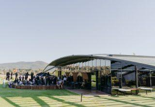 Levantine Hill Wedding Venue, Outside Gardens
