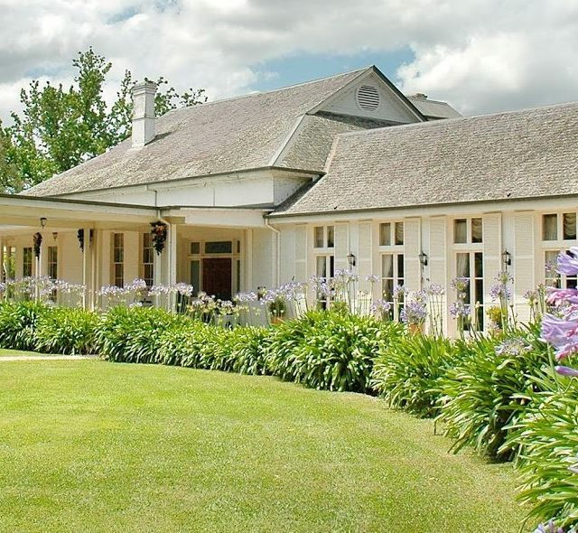 Chateau Yering Hotel, Yarra Valley Winery Wedding & Events Venue, Outside View