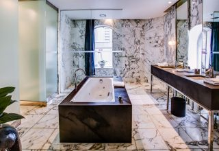 Establishment Hotel Sydney Marble Bathroom