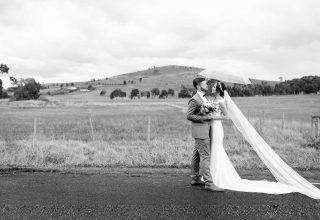 Fergusson Winery, Yarra Valley Vineyard Wedding Venue, Bride and Groom