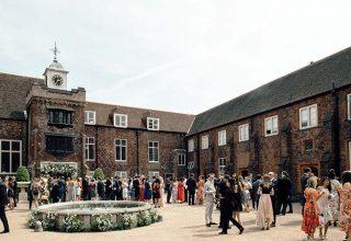 Fulham Palace Summer Party, Tudor Courtyard