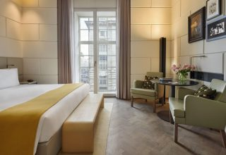 Guest Room at Hotel Cafe Royal