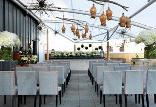 Ham Yard Hotel, Roof Terrace