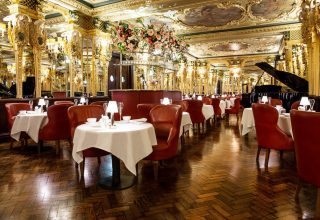 Hotel Cafe Royal Corporate Lunches, Oscar Wilde Lounge