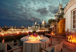 Hotel Cafe Royal Private Dining, Dome Penthouse