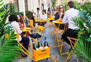 Hotel Cafe Royal Summer Drinks, Green Bar