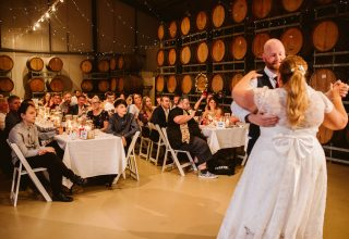 Fergusson Winery Wedding Venue, Whole Venue, Photography by Belle Martin