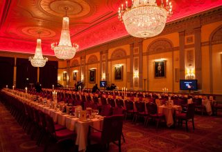 Plaisterers' Hall Corporate Dinner, Great Hall