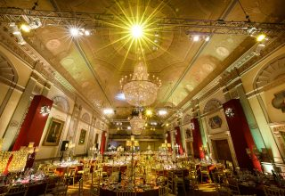 Plaisterers' Hall Private Dinner, Great Hall