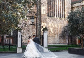 The Connaught London Luxury Wedding Venue Mayfair, Bride and Groom