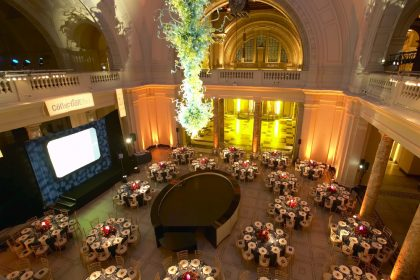 V & A Corporate Dinner, Dome