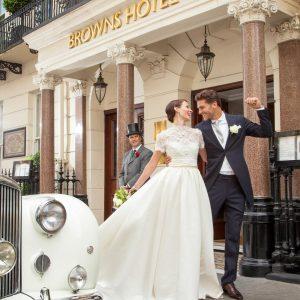 Browns Hotel Wedding Venue, Entrance