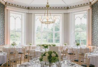 Nonsuch Mansion Corporate Dinner, The Orchid Room