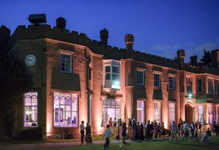 Nonsuch Mansion Corporate Party, Lawn