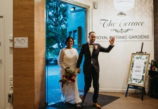 The Terrace, Royal Botanic Gardens Melbourne Wedding Venue, Whole Venue