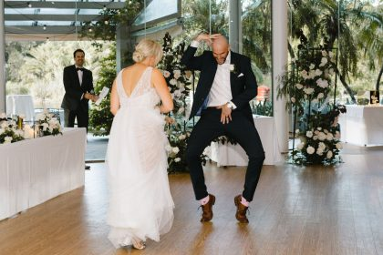 The Terrace, Royal Botanic Gardens Melbourne, Whole Venue, Photography by Wild Romantic Photography