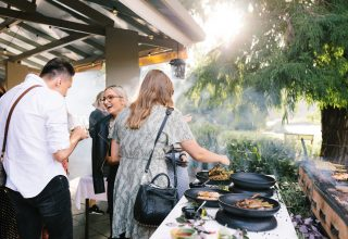 The Terrace, Royal Botanical Gardens Corporate Event, Whole Venue