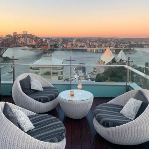 Intercontinental Sydney Social Drinks, Panorama Rooftop