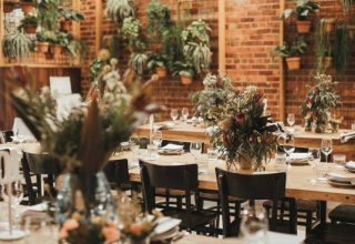Post Office Hotel Wedding Venue, Dining Hall, Photography by Two Front Teeth