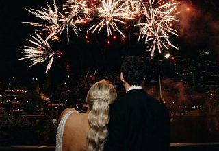 Crowne Plaza Melbourne Wedding Fireworks