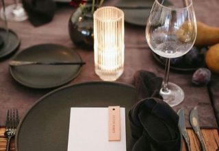 In-house styling at Crowne Plaza Melbourne Pearl Riverfront tabletop decor