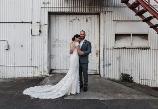 Gather & Tailor -Wedding-couple-portrait-outside-Gather-Tailor-Melbourne-Photo-by-Art-of-Grace.jpg