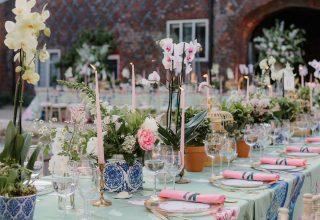Fulham Palace London, Outdoor Wedding Venue, Wedding Reception Setup