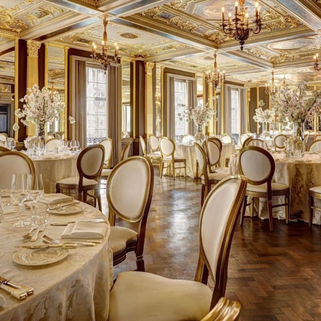 Hotel Cafe Royal London, Wedding & Event Venue, Pompadour Ballroom Wedding Reception