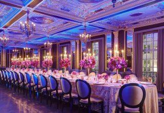 Hotel Cafe Royal London Wedding & Event Venue, Pompadour Room, Wedding Reception