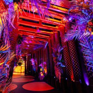 SUSHISAMBA London Herron Tower Wedding & Events Venue, Entrance